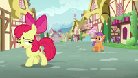 Apple Bloom walks away from Tender Taps S6E4