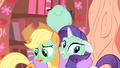 Applejack and Rarity aren't that excited S1E08.png