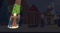 Applejack steps on stage in tree costume CYOE9a