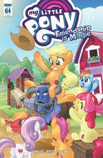 Comic issue 64 cover RI