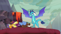 Ember furious at Billy, Fume, and Clump S9E9