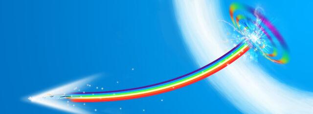 File:FANMADE Sonic Rainboom Wallpaper.jpg
