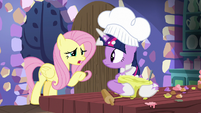"Fluttershy ""are you cooking?"" S7E20"