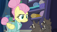 Fluttershy feeling more confident S8E4
