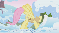 Fluttershy waking up woodland critters S1E11