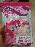 My Little Pony disposable wash gloves