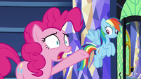 "Pinkie ""does anypony really believe that?!"" S9E26"