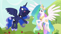 "Princess Luna ""that was fun!"" S9E13"