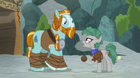 "Professor Fossil ""maybe in the past"" S8E21"