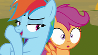 "Rainbow ""pause for dramatic effect"" S8E20"