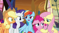 "Rainbow Dash ""this is bad!"" S9E2"