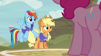 "Rainbow Dash ""we were treating you like us"" S6E18"