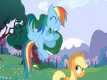 Rainbow Dash emocionada (2)