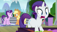 "Rarity ""everything up to the next level!"" S8E7"