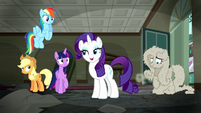 "Rarity ""my sales associate after that"" S6E9"