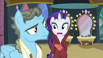 Rarity -of framing Rainbow Dash as you are- S5E15