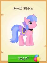 Royal Ribbon MLP Gameloft