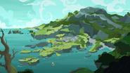 S07E25 Applejack przypływa na wyspę Rockhoofa