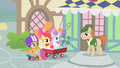 "Scootaloo ""we'll return the fan to you real soon"" S1E18.png"