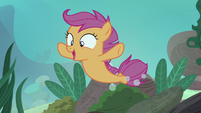 "Scootaloo ecstatic ""just like flying!"" S8E6"