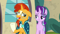 "Sunburst ""we know why we're here"" S8E8"