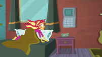 Sunset Shimmer noticing the time SS6