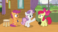 "Sweetie Belle ""we just need to talk to him again"" S7E21"