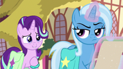 Trixie skeptical of Starlight's claim S9E11