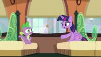 Twilight --I don't know, Spike-- S6E2