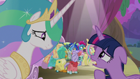 "Twilight Sparkle ""we don't have a sun!"" S8E7"