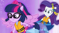Twilight and Rarity work together EGSB