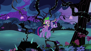"""Twilight and Spike """"are we there yet?"""" S4E02"""