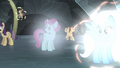 Village ponies returning to normal S5E2.png