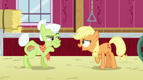 Young Applejack --it would go faster-- S6E23