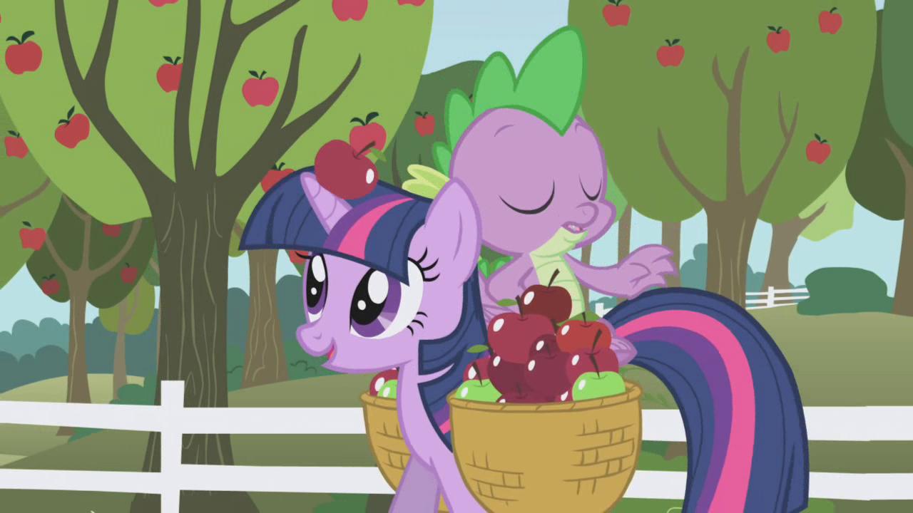 An apple falling S01E03