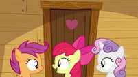 "Apple Bloom ""when's Rainbow Dash comin'?"" S9E22"