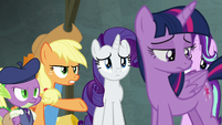 Applejack -truth is a huge part of friendship- S8E7