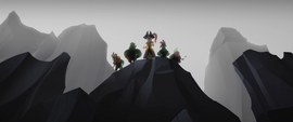 Celaeno and pirates appear before the ponies MLPTM