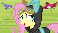 Fluttershy 'Oh! Y-you found her' S3E05