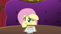 Fluttershy sighing in defeat S6E20