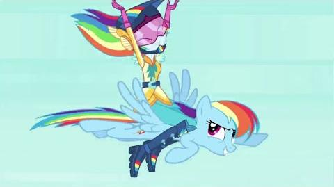 "MLP Friendship Games Blooper Reel Equestria Girls 3 - ""Неудачные дубли"" со съемок EG3"