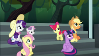 Main four and CMC see Rainbow fly off S6E7