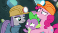 Maud Pie and Spike greet each other S7E4.png