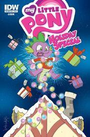 Okładka Komiks świąteczny 2015