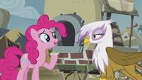 Pinkie -Grampa Gruff's recipe is good- S5E8
