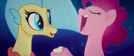"Pinkie Pie ""work with the time you've got"" MLPTM"