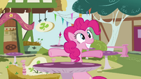 Pinkie Pie 'I get to be with my friends again!' S3E03