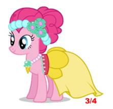 Pinkie Pie bridesmaid promotional