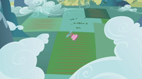 Pinkie Pie spinning out toward the ground S1E05