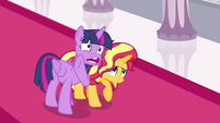 Princess Twilight whispering -am I helping-- EGFF